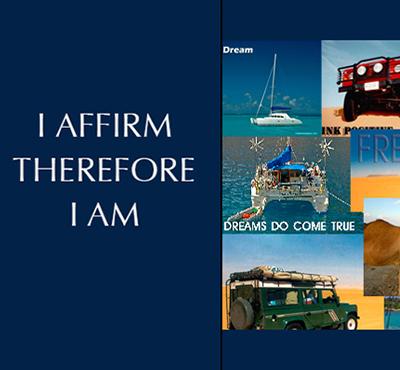 I Affirm Therefore I Am - Positive Thinking Doctor - Positive Thinking Network