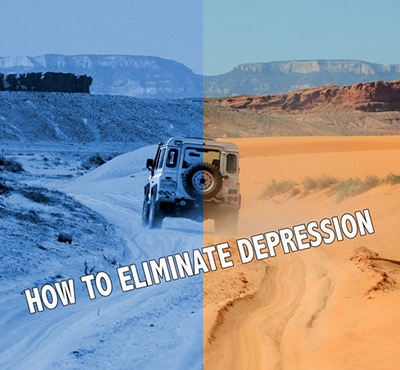 How to eliminate depression - Positive Thinking Network - Positive Thinking Doctor - David J. Abbott M.D.