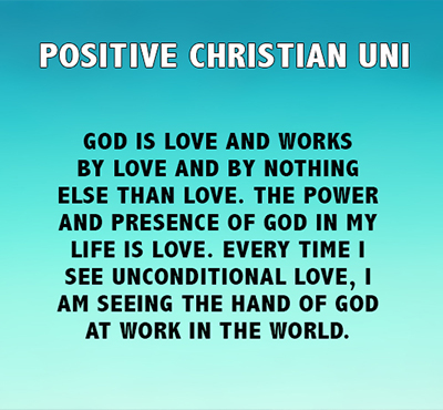Positive Christian UNI - Positive Thinking Network - Positive Thinking Doctor - David J. Abbott  M.D.