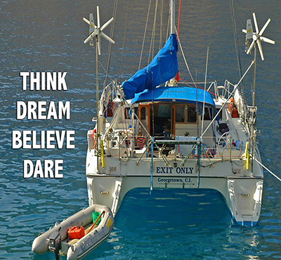 Think, Dream, Believe, Dare - Four superpowers that make dreams come true - David J. Abbott M.D.