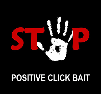 Positive Click Bait - David J. Abbott M.D. - Positive Thinking Doctor