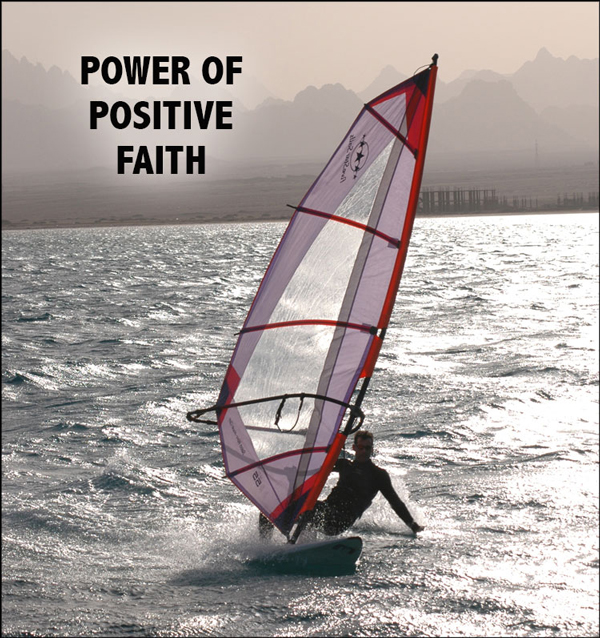 Power of Positive Faith - Any faith is enough faith to start moving in the direction of your dreams - David J. Abbott M.D.