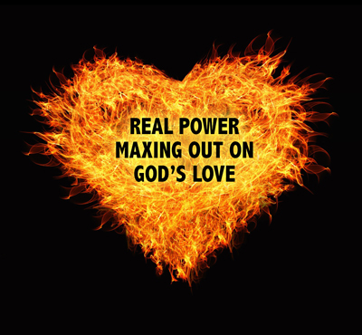 Real Power: Maxing Out On God's Love - Positive Thinking Doctor - David J. Abbott M.D.